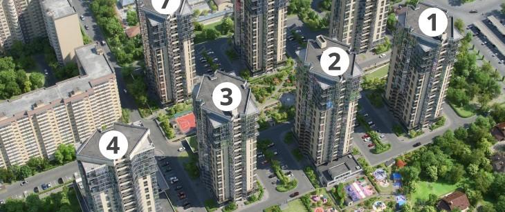 """ЖК """"Седьмой континент"""", г. Краснодар, продажа квартир"""